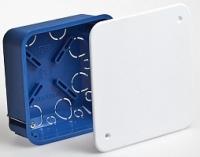 Коробка распаячная скрытой проводки для гипскартона 100х100 мм с крышкой Гипрок в Орехово-Зуево СтройДвор на Карболите