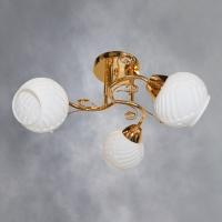 Люстра 6060-3 FGD золото 3х40W E27 SHGN17 в Орехово-Зуево СтройДвор на Карболите
