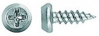 Саморез 3,5х11 полуцилиндр, острый, цинк (клоп) в Орехово-Зуево СтройДвор на Карболите