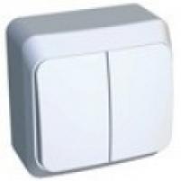 Выключатель 2-кл. Белый SchE BA10-002В в Орехово-Зуево СтройДвор на Карболите