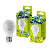 Лампа св/д Ergolux LED A60-10W-E27-4K в Орехово-Зуево СтройДвор на Карболите