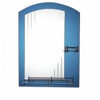 Зеркало для ванной комнаты арочное с полкой из стекла 70 х 50 F636 в Орехово-Зуево СтройДвор на Карболите