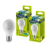 Лампа св/д Ergolux LED G45 9W E27 4000K шар в Орехово-Зуево СтройДвор на Карболите