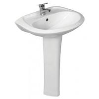 Раковина в ванную (умывальник) БРИЗ-60 белый с пьедесталом Сантек в Орехово-Зуево СтройДвор на Карболите