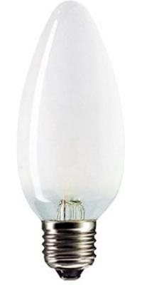 Лампа накаливания MIC Camelion 60/B/FR/E27 с матовой колбой, свеча в Орехово-Зуево СтройДвор на Карболите