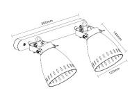 Светильник направленного света Camelion WML-428-1 С02 40 Вт Е27 в Орехово-Зуево СтройДвор на Карболите