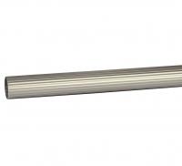 Труба карниза для штор Ø16 рифленая Сатин 1,6 м в Орехово-Зуево СтройДвор на Карболите