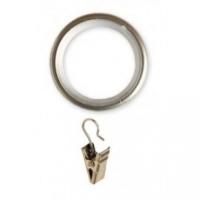 Кольцо Ø19 Бесшумное с зажимом Белое (10 шт) в Орехово-Зуево СтройДвор на Карболите