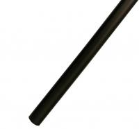 Труба карниза для штор Ø19 гладкая Черная 2,0 м в Орехово-Зуево СтройДвор на Карболите