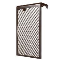 Декоративный экран на батарею отопления 7 ДМЭР Коричневый в Орехово-Зуево СтройДвор на Карболите