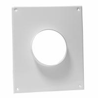 Торцевая площадка для вентиляции для вентиляционного отверстия вертикальная 180х250 фланец 60х120 612ПТВ в Орехово-Зуево СтройДвор на Карболите
