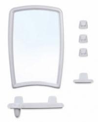 Набор для ванной из зеркала и полочек зеркало полочка стаканы крючки BK BEROSSI 41 в ассортименте в Орехово-Зуево СтройДвор на Карболите