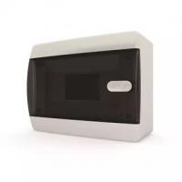 Распределительный щит (бокс) настенного монтажа 12 модулей навесной белая дверц Tecfor в Орехово-Зуево СтройДвор на Карболите