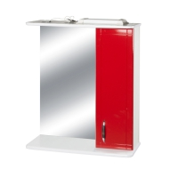 Зеркало-шкаф Модерн-50 Красный прав в Орехово-Зуево СтройДвор на Карболите