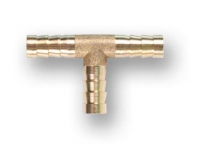 Соединение елочка 10 мм Т-образное латунь ECO в Орехово-Зуево СтройДвор на Карболите