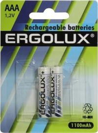 Аккумуляторы Ergolux AAA 1100mAh 2 шт в Орехово-Зуево СтройДвор на Карболите