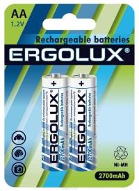 Аккумуляторы Ergolux AA 2700mAh 2 шт в Орехово-Зуево СтройДвор на Карболите