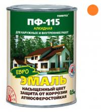 Эмаль ПФ-115 Оранжевый 0,9 кг в Орехово-Зуево СтройДвор на Карболите