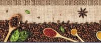Фартук АБС Кофе Леон (№213) 600 х 3000 мм в Орехово-Зуево СтройДвор на Карболите