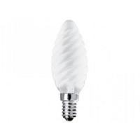 Лампа накаливания MIC Camelion 40/TC/FR/E14 матовая свеча витая в Орехово-Зуево СтройДвор на Карболите