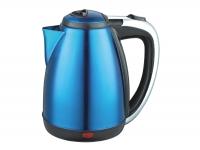 Чайник электрический нержавеющая сталь, скрытый нагревательный элемент 1.8л Синий в Орехово-Зуево СтройДвор на Карболите