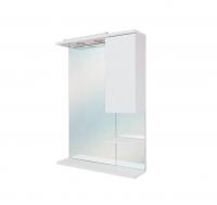 Шкаф-зеркало в ванную ЭЛИТА 60.01  белый пр. в Орехово-Зуево СтройДвор на Карболите