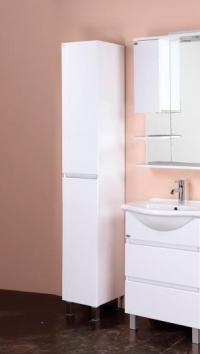 Пенал -шкаф для ванной ЭЛИТА 30.10 У белый в Орехово-Зуево СтройДвор на Карболите
