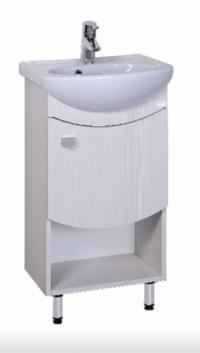 Тумба для ванной СЕЛЕНА 45.01 + умывальник ДОРА-47 в Орехово-Зуево СтройДвор на Карболите