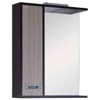 Шкаф-зеркало для ванной ГАММА 58.01 левосторонняя в Орехово-Зуево СтройДвор на Карболите