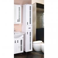 Шкаф вертикальный узкий в ванную комнату с 1 ящиком У в Орехово-Зуево СтройДвор на Карболите