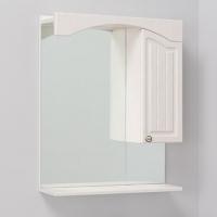 Шкаф-зеркало для ванной АРНО-КЛАССИК 65.01 пр. белое дерево в Орехово-Зуево СтройДвор на Карболите