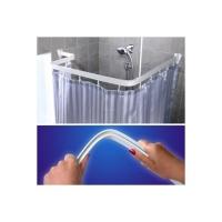 Карниз в ванную гибкий 3 м Белый в Орехово-Зуево СтройДвор на Карболите