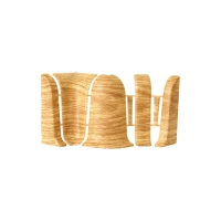 Углы и соединители для плинтусов Дуб сафари в Орехово-Зуево СтройДвор на Карболите