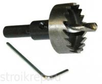 Коронка по металлу HSS 35 мм нитридтитановое покрытие Denzel в Орехово-Зуево СтройДвор на Карболите