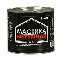 Мастика битумная ГРИДА МГХ-Г 3 кг в Орехово-Зуево СтройДвор на Карболите