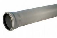 Канализационная труба 50 x 2000 мм серая в Орехово-Зуево СтройДвор на Карболите