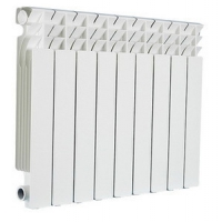 Радиатор отопления алюминиевый Germanium 500/8 секций в Орехово-Зуево СтройДвор на Карболите