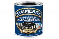 Краска для металла Черная гладкая ХАММЕРАЙТ 0,75 л в Орехово-Зуево СтройДвор на Карболите