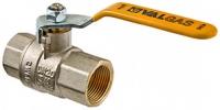 Кран шаровой газовый VALTEC VALGAS, стальная рукоятка 1