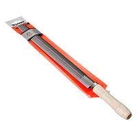 ЕРМАК Напильник с дерев.ручкой круглый 300 мм №2 в Орехово-Зуево СтройДвор на Карболите