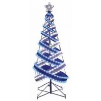 Ель ХАЙТЕК 120 см Синий + Белый 506-273 в Орехово-Зуево СтройДвор на Карболите