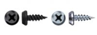 Саморез 3,5х11 полуцилиндр, острый, оксид (клоп) в Орехово-Зуево СтройДвор на Карболите