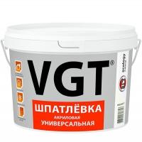 Шпатлевка акриловая универсальная ВГТ 3,6 кг в Орехово-Зуево СтройДвор на Карболите